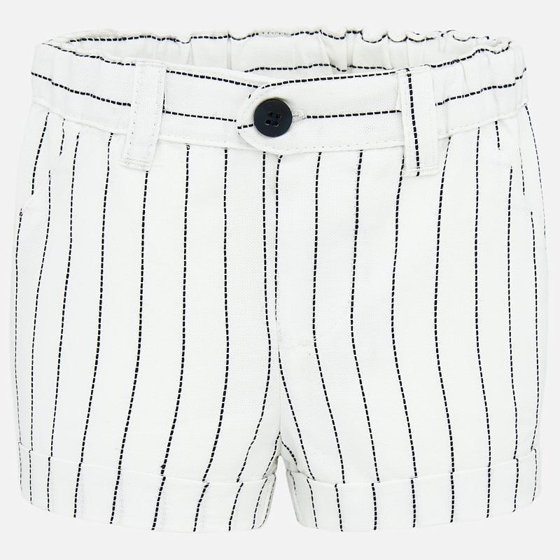 Wonderbaarlijk Mayoral korte broek met wit met zwarte strepen - Luxury For Kids FD-12